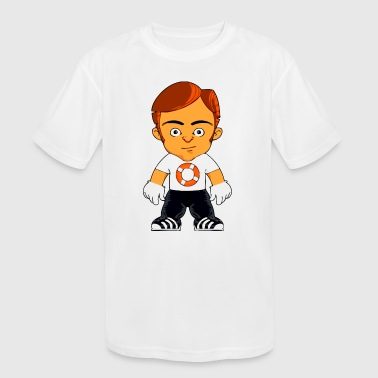 Little Gangster Comic Figure Crime - Kid's Moisture Wicking Performance T-Shirt