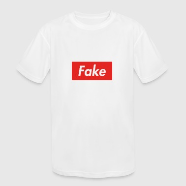 Fake (Supreme Styled) - Kid's Moisture Wicking Performance T-Shirt