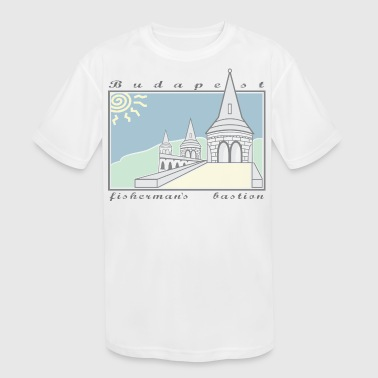 Fisherman's Bastion, Budapest, Hungary - Kid's Moisture Wicking Performance T-Shirt