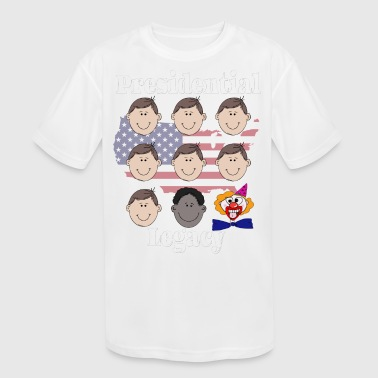US presidents clown copy - Kid's Moisture Wicking Performance T-Shirt