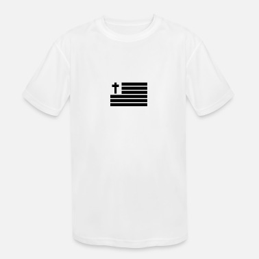 United States of Faith - Kids' Moisture Wicking Performance T-Shirt