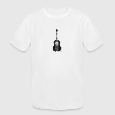 Shawn Mendes guitar tattoo - Kid's Moisture Wicking Performance T-Shirt