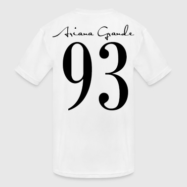 Ariana Grande 1993 - Kid's Moisture Wicking Performance T-Shirt