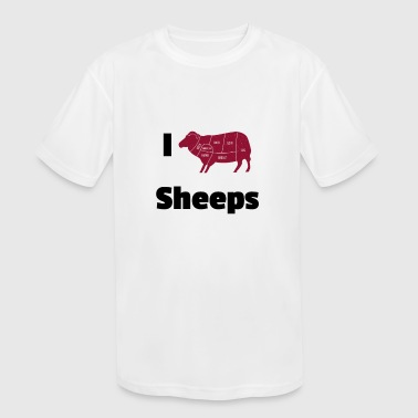 sheeps - Kid's Moisture Wicking Performance T-Shirt