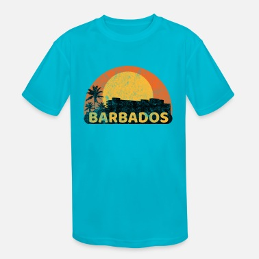 Commonwealth Barbados Sunset - Kids' Sport T-Shirt