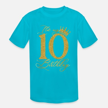 10 Years Old Gamer Boy Level 10 Unlocked 10th Birthday Shirt Shirt