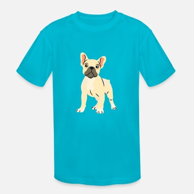 Bulldog Puppy french bulldog puppy - Kids' Sport T-Shirt