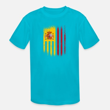 Spain Spain Flag / Gift Espana Madrid - Kids' Sport T-Shirt