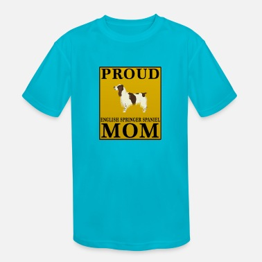 Springer Spaniel Mom Proud English Springer Spaniel Mom - Kids' Sport T-Shirt