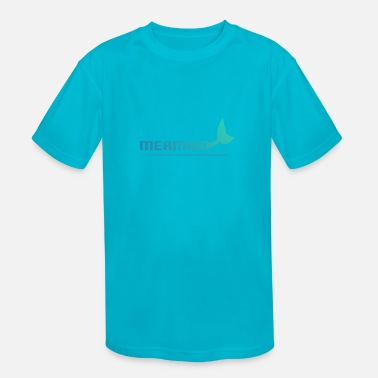Fins Mermaid with fins - Kids' Sport T-Shirt