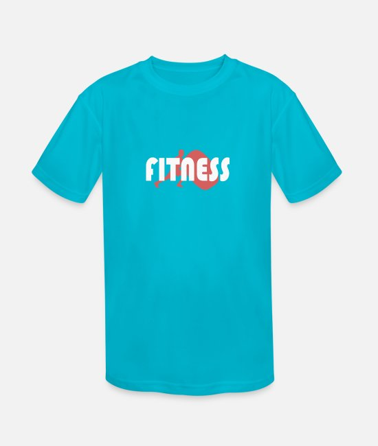 Drill T-Shirts - Workout - Kids' Sport T-Shirt turquoise
