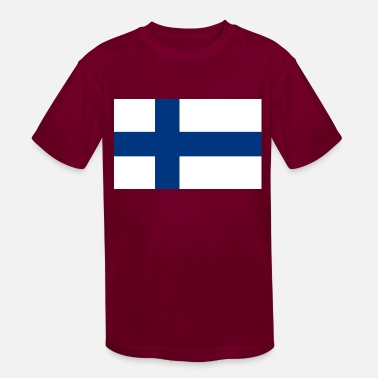 Finland country flag love my land patriot - Kids' Sport T-Shirt
