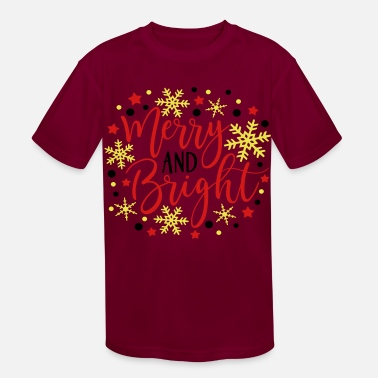 Bright merry and bright - Kids' Sport T-Shirt