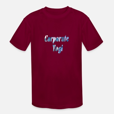 Corporate Life Corporate yogi 2 - Kids' Sport T-Shirt