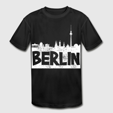 Berlin Berlin Berlin - Kid's Moisture Wicking Performance T-Shirt