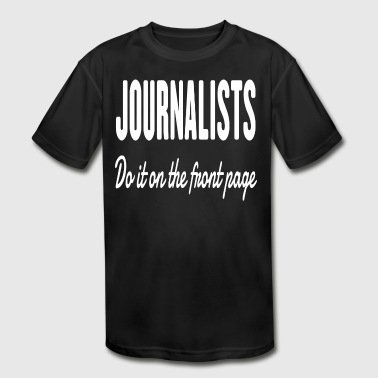 Journalists - Kid's Moisture Wicking Performance T-Shirt