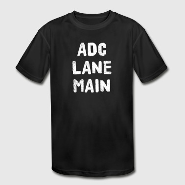 ADC LOL GAMER GAMING COMPUTER - Kid's Moisture Wicking Performance T-Shirt
