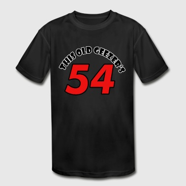 54 birthday design - Kid's Moisture Wicking Performance T-Shirt
