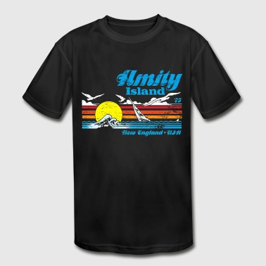 Amity Island Amity Island - Kid's Moisture Wicking Performance T-Shirt