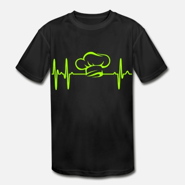 Hobby Cook cook cooking hobby passion chef job heartbeat - Kids' Sport T-Shirt