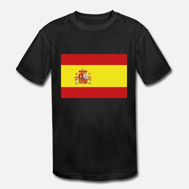 Flags Spain Flag of Spain, Spains flag, flag Spain, Spain flag - Kids' Sport T-Shirt