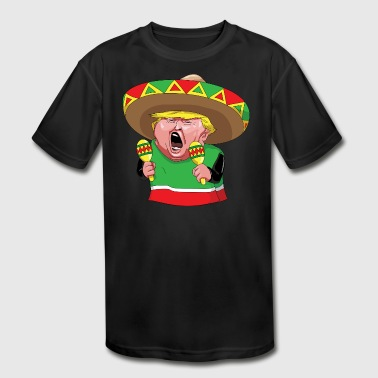 Gift For Mexican mexican - Kid's Moisture Wicking Performance T-Shirt