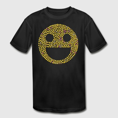 emoticons - Kid's Moisture Wicking Performance T-Shirt