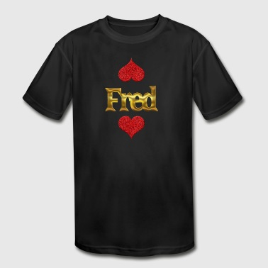 Fred - Kid's Moisture Wicking Performance T-Shirt