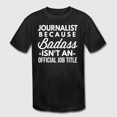 Journalist - Kid's Moisture Wicking Performance T-Shirt