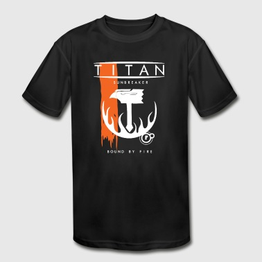 tian flag - Kid's Moisture Wicking Performance T-Shirt