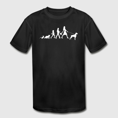 Weimaraner - Kid's Moisture Wicking Performance T-Shirt
