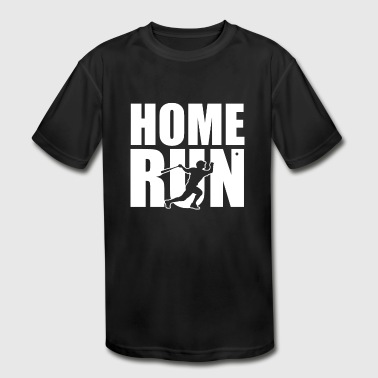 Baseball Team Athlete Homerun Batter - Kid's Moisture Wicking Performance T-Shirt