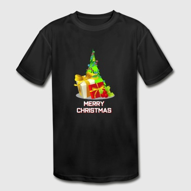 Merry Christmas - Kid's Moisture Wicking Performance T-Shirt