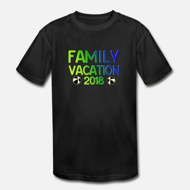 Family Holiday Family Vacation Gifts for Families - Kids' Sport T-Shirt