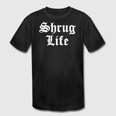 Shrug Life SHRUG LIFE - Kid's Moisture Wicking Performance T-Shirt
