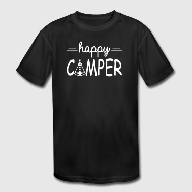 Happy Camper - Kid's Moisture Wicking Performance T-Shirt