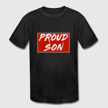 PROUD SON - Kid's Moisture Wicking Performance T-Shirt