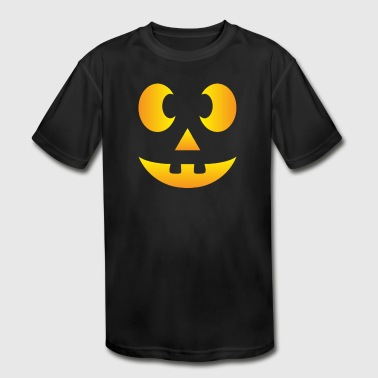 Bat Halloween Cyber System - Kid's Moisture Wicking Performance T-Shirt
