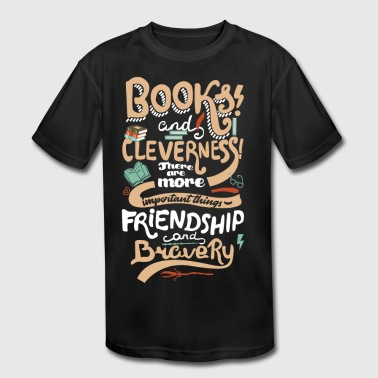 Books and cleverness - Kid's Moisture Wicking Performance T-Shirt