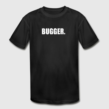 BUGGER - Kid's Moisture Wicking Performance T-Shirt
