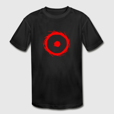 Alchemy symbol sun (gold) red - Kid's Moisture Wicking Performance T-Shirt