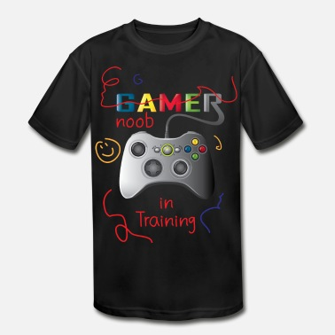 Noob Noob in training - Kids' Sport T-Shirt