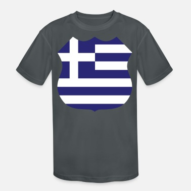 City greece sign - Kids' Sport T-Shirt