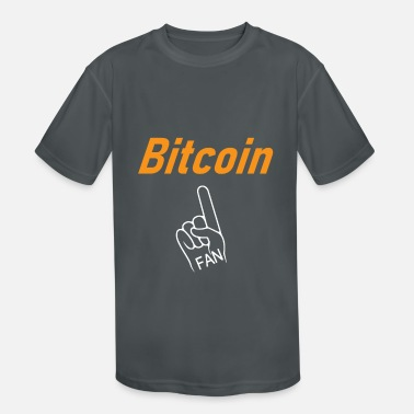 Bitcoin Fan - Kids' Sport T-Shirt