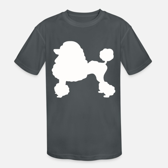 Movie T-Shirts - TOY POODLE - Kids' Sport T-Shirt charcoal