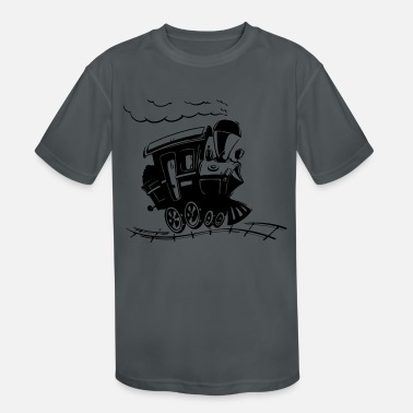 Bnsf train - Kids' Sport T-Shirt