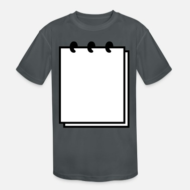 Writable Notebook (use writable flex) - Kids' Sport T-Shirt