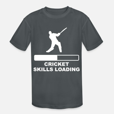 Kids Cricket Skills Loading - Kids' Sport T-Shirt