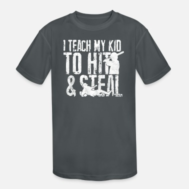 Steal HIT and STEAL - Kids' Sport T-Shirt