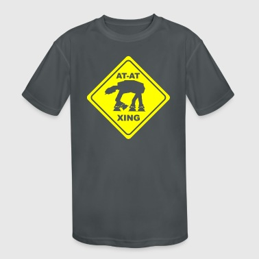 AT-AT CROSSING - Kid's Moisture Wicking Performance T-Shirt